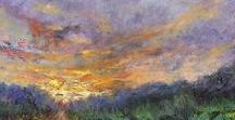 Colorful landscapes, Easy online ordering - http://liron.com/products-page/radiant-landscapes/ / Colorful landscape paintings, Contemporary landscapes, impressionist landscapes by Liron Sissman www.Liron.com