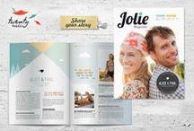 [design] brochures / by Carmen @ SillyLab