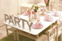 [events] birthday parties / Creative ideas for fun and easy children's birthday parties / by Carmen @ SillyLab