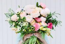 Blooms  / wedding flowers design ideas