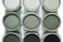 c o l o u r / paint, colour palettes, colour inspiration