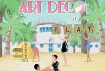 Art Deco Weekend Posters