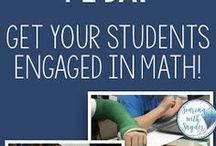 Upper Elementary Math   Teaching Ideas for Teaching Math in Third, Fourth, and Fifth Grade / Ideas, resources, tips, and tricks for teaching math in third, fourth, and fifth-grade classrooms.