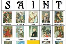 Catholic Saints / by Susan Girot