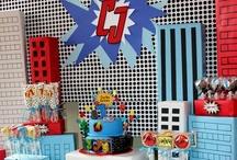 Superhero Birthday / by Mandi Payne