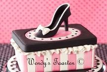 Handbag & Shoe Cakes