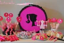 Fiesta de Barbie. Barbie´s birthday / Detalles e ideas de un cumpleaños, fiesta, detalles de BARBIE