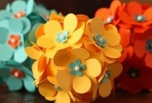 Paper Crafts--Flowers / by Tami Barnes