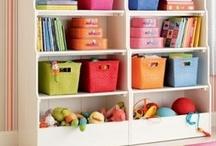 Nursery & Kids Room Organization