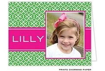Say My Name / Monogrammed and personalized stationery / by The Paper Cottage