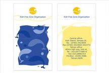 Kish Free Zone / Corporation Design for kish free zone organization in iran In the south of Iran, there is a small island but it has numerous tourist attractions. This is a resort island in the Persian Gulf and with a nice blue sea and so calm and quiet environment for holiday. So I used the blue sunny sky of island and the nice calm sea in my design.