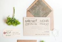 Paper obsession  / Wedding paper inspiration  / by Sara Roeder