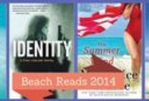 2014 Beach Bag Reads / Pack that beach bag with the sunscreen, hat, sunglasses and a towel (oh and don't forget 1 of these beachy reads!)