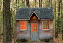 Tiny Houses / I love the idea of Tiny Houses.  I would never want to live permanently in one!  I think they look like an adorable idea for a weekend away.  Our Summer Kitchen is like a Tiny House - we turned it into a getaway for our Handmade U Instructors or participants in the Teacher's Pet weekends!  www.handmadeu.com