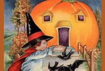 Halloween Postcards / This is one Holiday that I never cared for as a Kid and still today as an Adult, I don't like it that  well.    / by Susan Girot