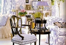 French Country / What Is French Country? Elegance with a touch of nature and country mixed in...antiques, blue & yellow, florals and nature inspiration, gilt, finishes, patina, distressed