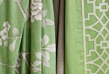 "Fabric...Window Treatments...Trim / ""The details are not the details.  They make the design.""....Charles Eames"