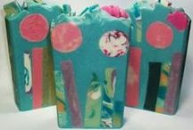 CP Embedded Soap / Soaps embedded with shapes and more / by Bath Alchemy