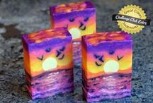 CP Scenery Soap / Landscapes, scenery and real-life inspired soaps / by Bath Alchemy