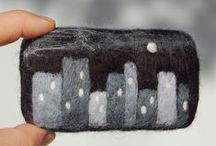 Felted Soap / Soaps with felted designs / by Bath Alchemy