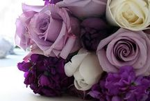 Wedding - Flowers - Bridal and Bridesmaid's Bouquets  / Real ideas for our wedding flowers.