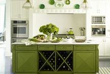 Decorating with Green / Decorating with green. / by Planet Weidknecht