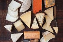 Bread and cheese, cheese and bread / by Marni Havener