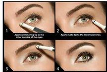 Makeup step-by-step