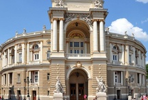 Odessa Opera House / Just 2 quick facts about Odessa's Opera House: 1) It competes with La Scala for the #1 position in the quality of acoustics 2) It saw Chaikovsky, Caruzo, Shalyapin, Anna Pavlova.  Aaah, and the most expensive ticket costs $18!