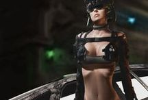 Cyberpunk / Sci-fi / Cyberpunk / Post-Apocalyptic
