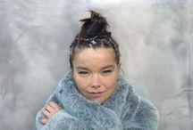 Björk  / Björk Guðmundsdóttir (born 21 November 1965), known as Björk, is an Icelandic singer-songwriter and producer.  / by Stock Pin