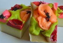 CP Soap Decorating / Soap decorating uses tools from other mediums to make soap, such as cake decorating / by Bath Alchemy
