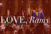 Love, Ramy / Straight from the blog, or from BTS of Ramy Sharp's everyday life. Look here for mega lifestyle inspiration!