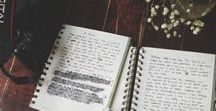 journal inspiration / Drawings, scraps, clippings, and other things that inspire.
