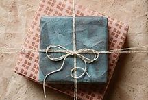 pretty packaging / Gift and product package inspiration.