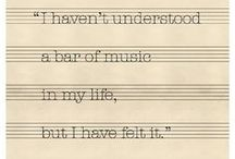The one with the music / My favorite music, artists, and lyrics. / by Karin