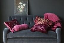 Pink and Burgundy