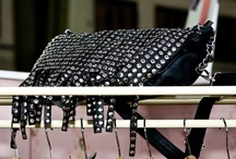 Bags with metal studs