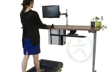 Treadmill Desks - Walk and Work / Burn calories, improve circulation, and stay energized and active while you work with our ergonomic treadmill desks. If you want to be healthy at work, these desks are your solution!