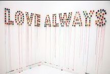 Wedding Invitations, Signs + Paper Decor / by Kristi Wright