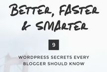 Blogging Tips / A collection of tips and advice on successfully running a WordPress blog. This board includes posts about blogging, blogging tips, blog post ideas, organizing blog posts, blogging with WordPress, bloggers, blogging tricks, blog SEO, blog monetization, blogging tutorials, and more.