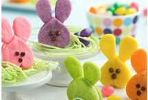 Easter Holiday Food Styling / All the cutest food styling and photography for Easter. Fun holiday photography.