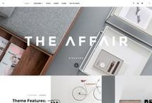 WordPress Themes / A collection of the best WordPress themes for your blog or business. This board includes: WordPress blog themes, feminine WordPress themes, WordPress business themes, WordPress portfolio themes, multipurpose WordPress themes, and more.