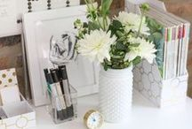 Organization: office space / decorating and planning for a home office space