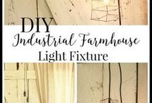Rustic decor / Rustic furniture, and home decor. Diy rustic decor, diy rustic decor projects, diy home decor.