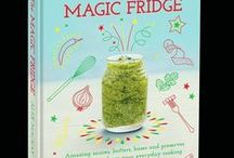 The Magic Fridge / Alex MacKay's 'The Magic Fridge' (Bloomsbury) is about to launch, the followup to his 'Everybody Everyday'!  Think of it as everyday magic for all of us!   Alex is my son, now a wonderful #dad himself, who teaches his children to garden and cook.    I wish I'd had his books when I cooked for him & his brothers!  #chef #family food #cookingwithkids #wizard #TheMagicFridge  @alexmackaycooks, on IG and Twitter