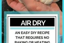 polymer clay, air dry clay, homemade clay projects / This board is for all things clay. Polymer, air dry, homemade clay. Diy clay projects,  clay beads, how to make clay