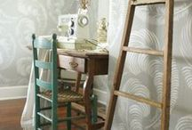 Home Decor:  windows and walls / window treatments and wall decor
