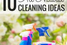 Homemade cleaning products / Homemade cleaning products, detergents, degreasers, window cleaners, fabric softeners, diy cleaners for the home, natural cleaners, diy cleaning products