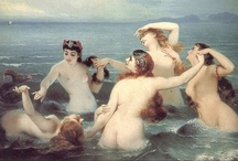 MERMAIDS AND NYMPHS / Inspiration for many scenes in my Victorian gothic novel, 'Elijah's Mermaid'.